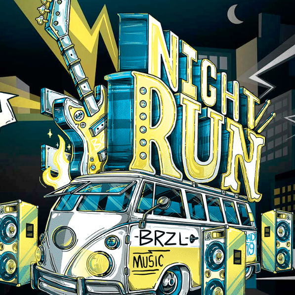 Night Run Rock - Curitiba